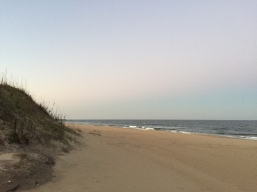 Made it to the beach in Virginia