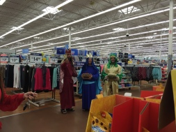 Three Wise Men at Walmart