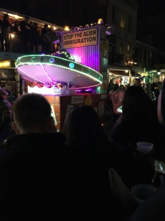 """Our First Mardi Gras Parade, Krewe de Vieux, in New Orleans (""""R"""" rated)"""