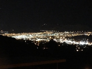 El Paso Night View from our Deck