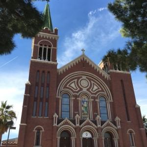 El Paso St. Patrick's Cathedral Exterior