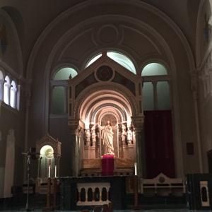 El Paso St Patrick's Cathedral Interior