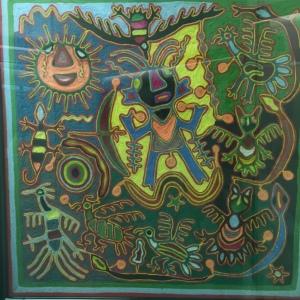 El Paso UTEP Museum Fabric Work