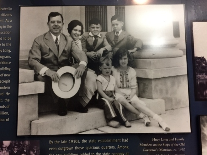 Huey P. Long and Family